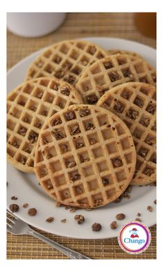 Ya probaste cocinar con azúcar orgánico Chango? Ideal para unos waffles? Waffles, Breakfast, Food, Cook, Recipes, Morning Coffee, Essen, Waffle, Meals