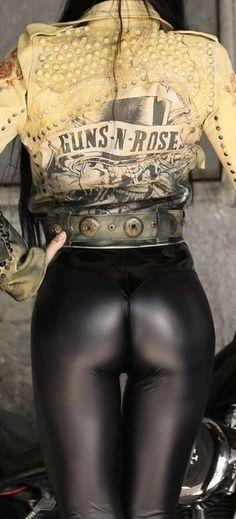 Leather leggings bottom