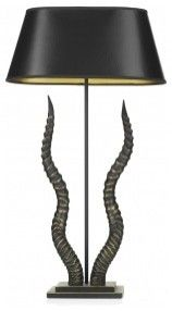 David Hunt Kudu Modern Table Lamp