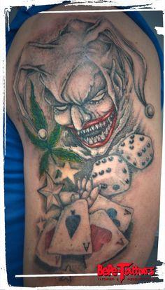 Gambling by BePe-Tattoos