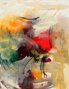 """Original large signed by the artist painting, """"Untitled #5"""" by Bambang Widarsono, 2015, Bali, Indonesia, Acrylic on canvas 90 x 70cm, (35.43 x 27.56 inches)."""