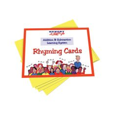 Addition & Subtraction Rhyming Cards (ONLY)