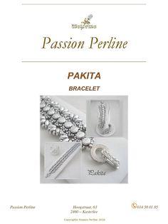 Pattern bracelet PAKITA by PASSIONPERLINE on Etsy