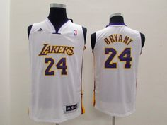 NBA Kobe Bryant youth kids jersey white jerseys