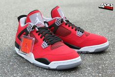 Toro Bravo Retro 4z via Kicksonfire.com. Could you bring the best out of these Js???