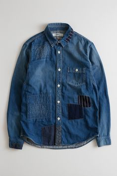 DENIM SHIRT 3YR WASH