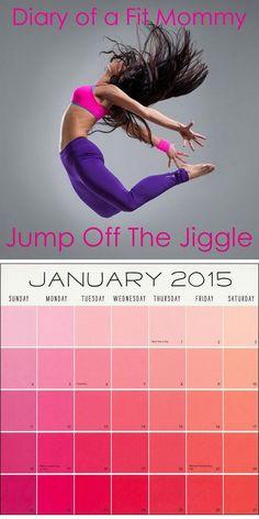 Jump the Jiggle Off January Workout Challenge