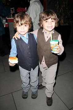 A Day of Days of our Lives 2011 Aaron & Griffin play Johnny on Days.  They are so cute!