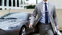 Aston Martin - Grey suit