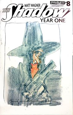 The Shadow by Bill Sienkiewicz