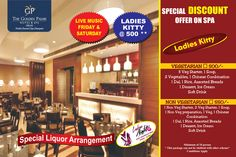 For all the pretty ladies, here's an exciting deal for your Kitty Party at The Golden Palms Hotel & Spa, Delhi. #Discount #Offers