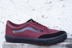 fe81cfb3727b62 Vans Suede Gilbert Crockett 2 Pro Shoes Cabernet Black