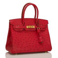 sac hermes croco rouge tendance