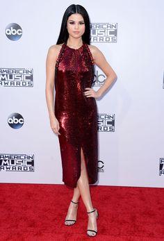 Selena Gomez aux American Music Awards 2015