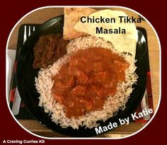 Katie impressed her sister with a Craving Curries Chicken Tikka Masala Pollo Tikka Masala, Chicken Tikka Masala, Indian Curry, Curries, Cravings, Dishes, Food, Curry, Tablewares