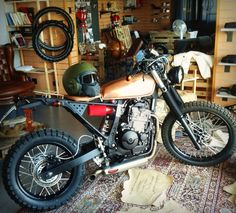 Cupa by OC Garage  What a brilliant trailbike conversion