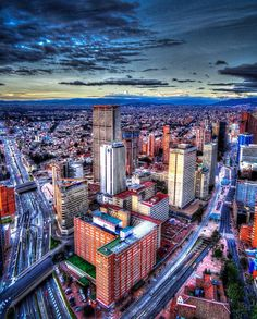 Bogotá, D.C. Vista Panorámica desde la Torre Colpatria. Visit Colombia, Colombia Travel, Colombia South America, South America Travel, Places Around The World, Adventure Travel, Beautiful Places, Travel Photography, Bogota Colombia