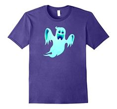 Amazon.com: Blue Ghost Halloween T shirt: Clothing