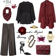 Aminah´s Hijab Diary #hijab #modest #fashion #style #look #outfit #ootd #mango #hm #winter #muslimah #germany