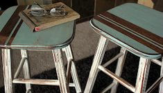 Furniture Styles, Paint Furniture, Furniture Makeover, Home Furniture, Furniture Ideas, Furniture Refinishing, Painted Stools, Painted Coffee Tables, Coffee Table Inspiration
