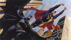 Alex Ross - Batman and Superman