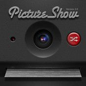 PictureShow... Good app to have in your iPhone