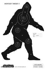 Bigfoot/Sasquatch Targets 10pc!! Pistol, Rifle, Air, Bow! NRA Target Paper!