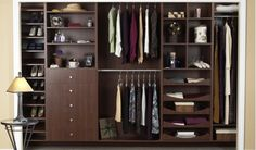 Closet Organization - contemporary - closet organizers - vancouver - by Tailored Living North Vancouver Closet Storage, Closet Organization, Custom Closet Design, Custom Closets, Closet Designs, Contemporary Closet Organizers, Diy Storage Cabinets, Laundry Cabinets, Outfits