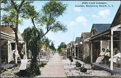 Hollywood Cottages postcard, Seaside, Rockaway Beach, Queens. Circa 1910. From the Museum of the City of New York.