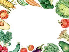vegetables rawpixel drawn space vegetable drawing draw premium avocado drawings cartoon easy bg outline gemerkt
