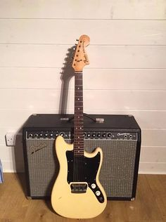 Fender Musicmaster 1977 Olympic White   Reverb