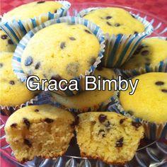 Bimby Truques & Dicas: Queques de arroz c/ pepitas de chocolate