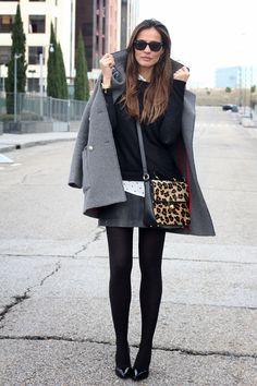 military grey coat