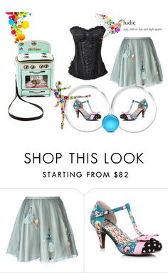 """~Betsey Johnson Bag~"" by confusgrk ❤ liked on Polyvore featuring RED Valentino, Betsey Johnson and AmiciMei"