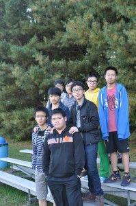 International students enjoying SOCCER!