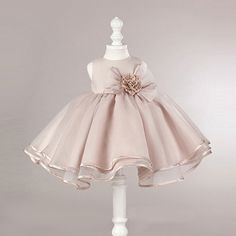 2017 Summer Girls Clothes Toddler Baby Kids Princess Party Dresses Girls Big flower Christmas Dress Children Clothing 2-12y(China (Mainland))