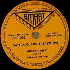 Smart vintage record label by SCVHA, via Flickr