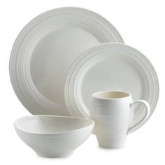 product image for Mikasa® Swirl Dinnerware Collection in White