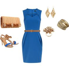 blue and gold... love it....