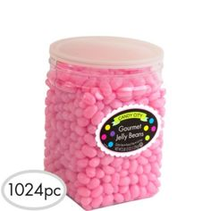 Light Pink Jelly Beans 1024pc - Party City