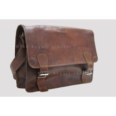 Leather Messenger Bag 18 Inch / Office Bag