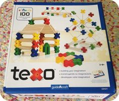 @Guidecraft Toys Texo Review & link to Giveaway