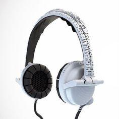 3D printed headphones.
