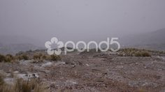 Snow in the mountains of Cordoba, Argentina - Stock Footage | by BucleFilms