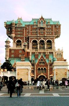 """Tower of Terror ride - Tokyo Disneyland""  The only Disney Theme Park that I haven't been to...well before they finish the one in Shanghai ♥"