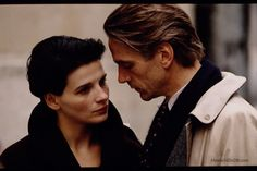 Damage (1992) Juliette Binoche and Jeremy Irons