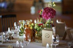 Kwiatowa dekoracja na drewnianych pieńkach || Floral decoration on wooden stems