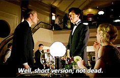 [GIF-SET] The reunion. This contains spoilers so those who haven't seen sherlock look at your own risk!!