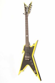 Click Image Above To Buy: Used Dean Razorback 7 255 7-string Electric Guitar