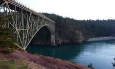 Deception Pass Bridge           Washington State...in this case, where I used to live.